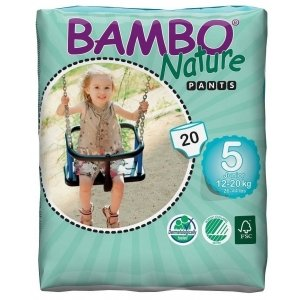 Abena Bambo Nature Pants 5 - 20 Stuks - 12 tot 20 kg