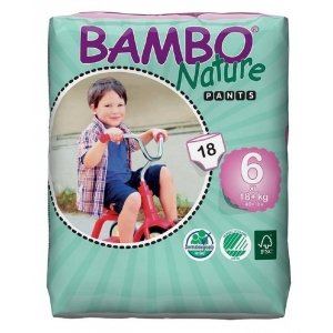 Abena Bambo Nature Pants 6 - 18 Stuks - Vanaf 18 kg