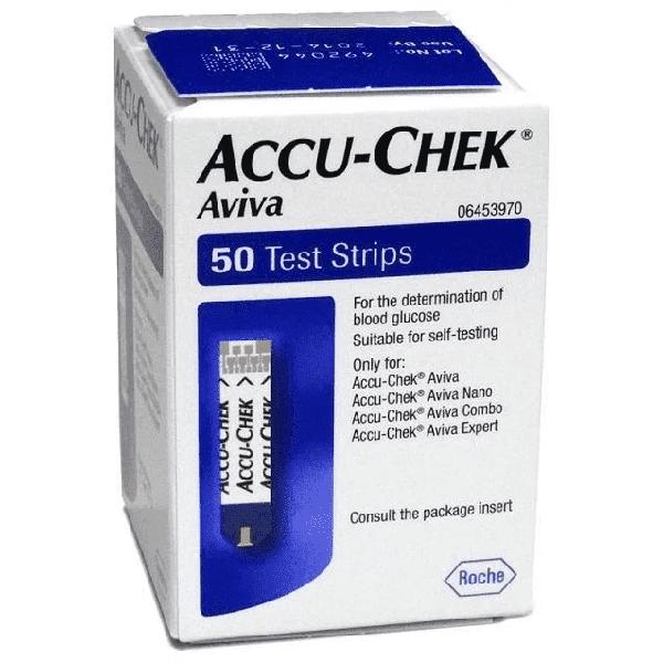 Accu-Chek Aviva Teststrip (50 st.)