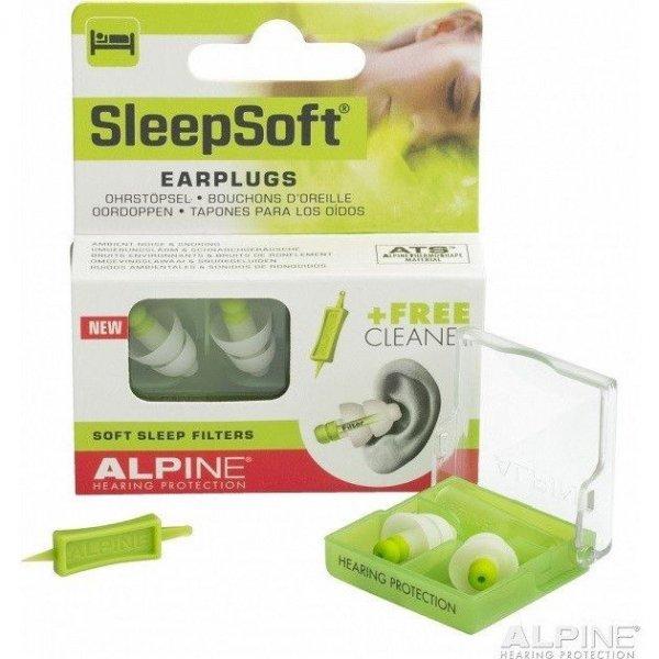 SleepSoft Oordopjes-display