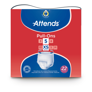 Attends Pull Ons Plus 5 Extra Small - 22 Stuks