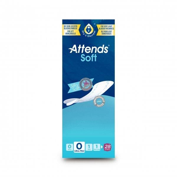 Attends Soft 0 Ultra Mini 28 Stuks