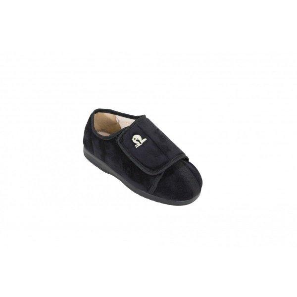 Cameron Pantoffels laag-Zwart-44