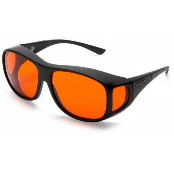 Cocoons Overzetbril Oranje-Small / Medium