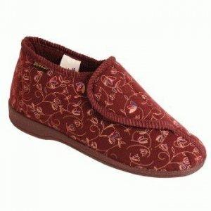 Dunlop Pantoffels Dames Betsy - Burgundy