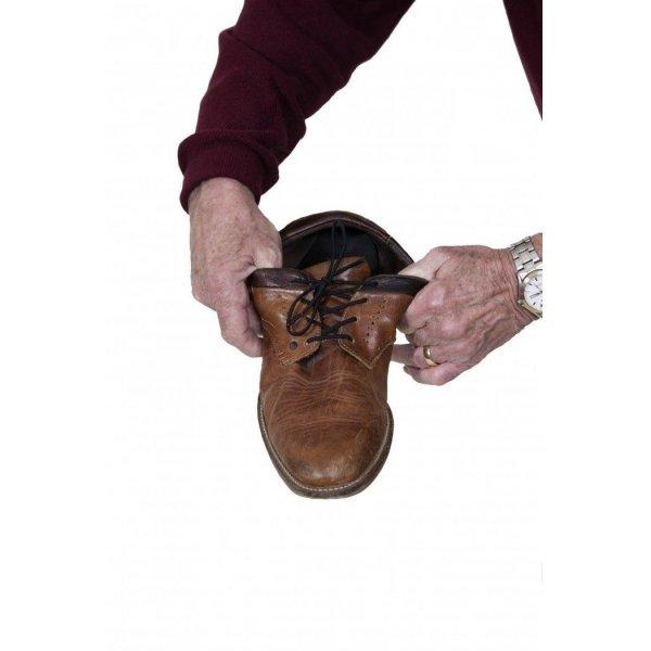 Elastische Schoenveters-61 cm-Wit