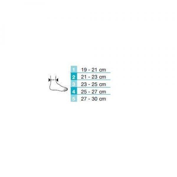 Enkelbrace Silistab Achillo-23 - 25 cm
