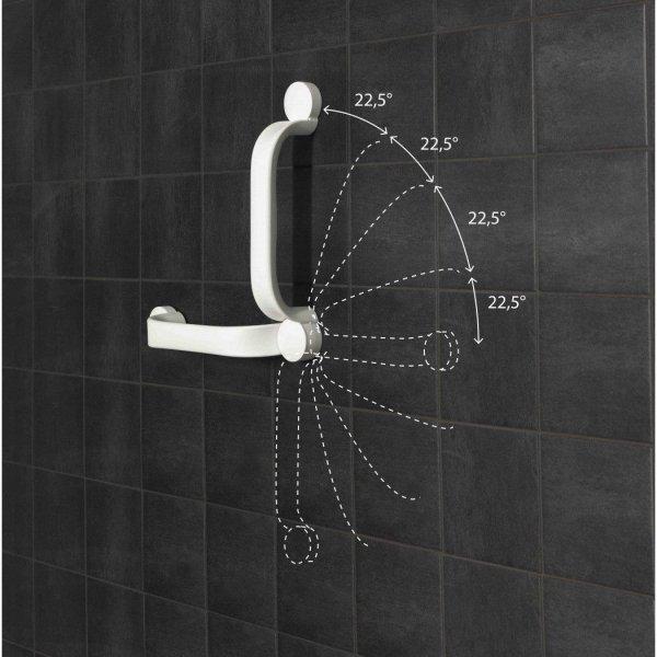 Etac Flex Wandbeugel Gelijmd - Grijs-90 cm