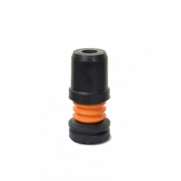 Flexyfoot Stokdop - Zwart - Vervangbare dop
