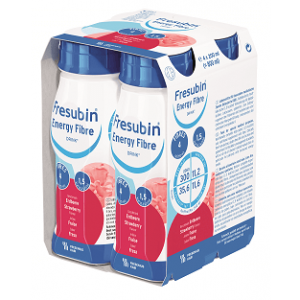 Frebini Energy Drink - Aardbei - 4x200ml