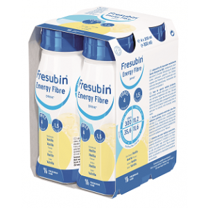 Frebini Energy Vezel Drink - Vanille - 4x200ml