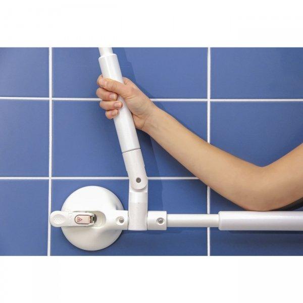 Handrail met verstelbare hoek - verstelbaar 340 - 465 mm