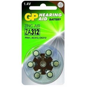 Hoorapparaat Batterijen ZA312