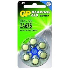 Hoorapparaat Batterijen ZA675