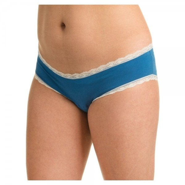 Incontinentie Hipster met Kant Dames - Blauw-40/42