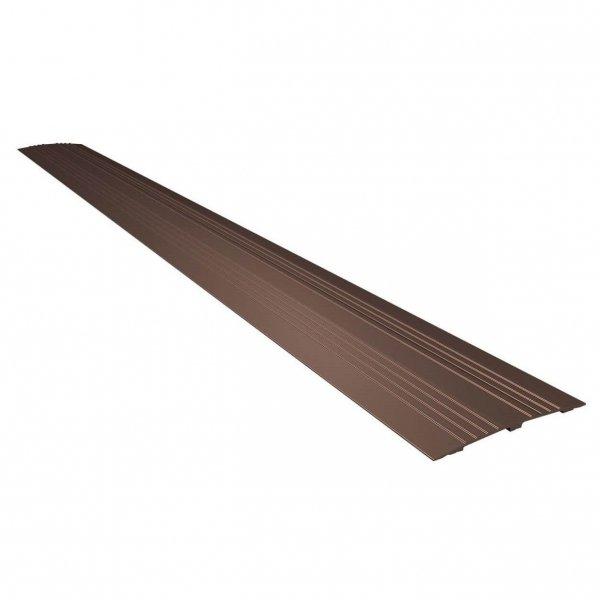 Indoor Drempelvervanger - 14 cm - Donker brons