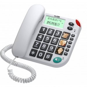 Maxcom KXT 480 Senioren Huistelefoon-Zwart