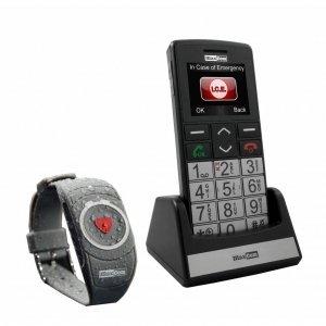 Maxcom Senioren GSM MM 715 BB met SOS Armband