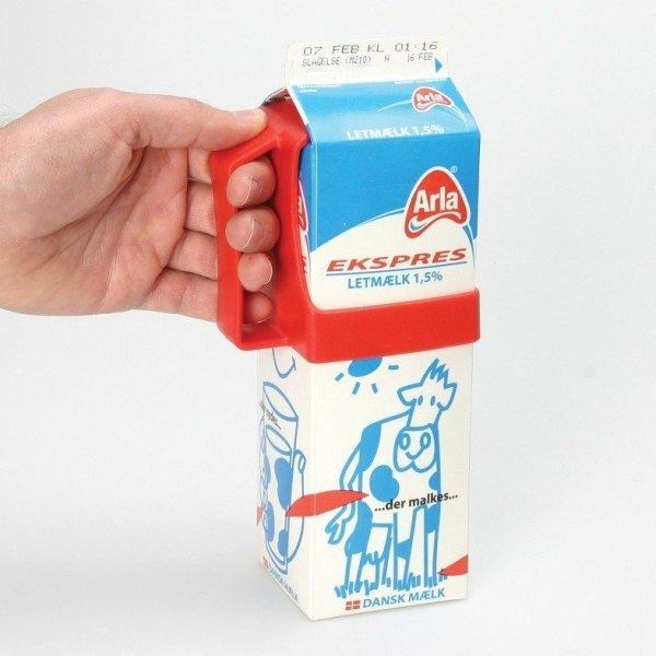 Melkpak houder