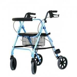 Move light Rollator-Zilver