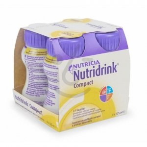 Nutridrink Compact Banaan 4x125ml