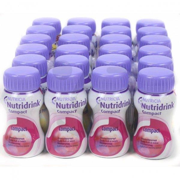 Nutridrink Compact Bosvruchten   6 pakken van 4x125ml