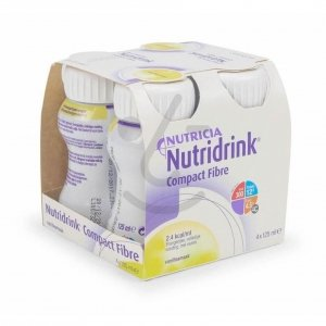 Nutridrink Compact Fibre Vanille 4x125ml