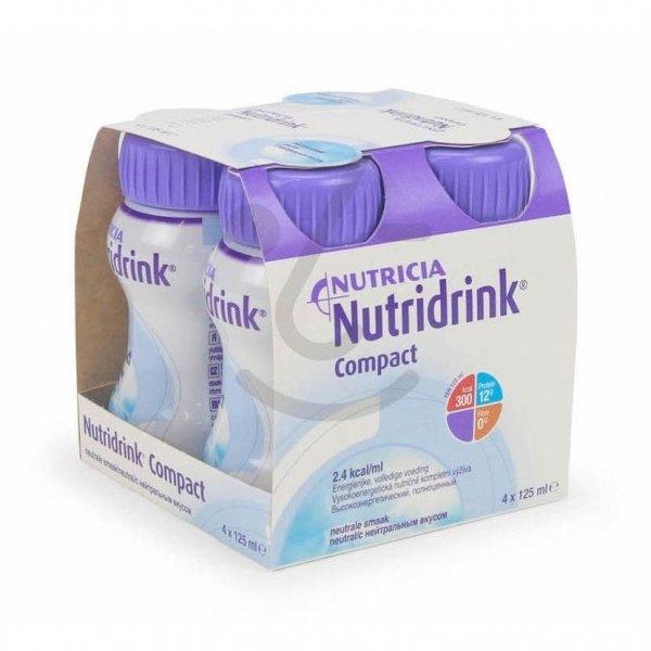 Nutridrink Compact Neutraal 4x125ml
