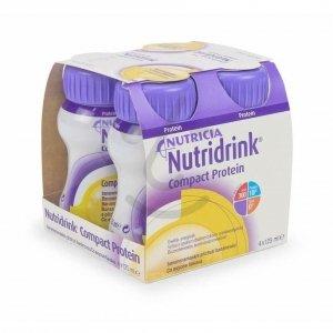 Nutridrink Compact Protein Banaan 4x125ml