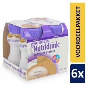 Nutridrink Compact Protein Mokka | 6 pakken van 4x125ml