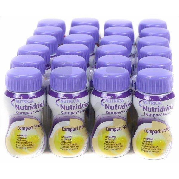 Nutridrink Compact Protein Vanille | 6 pakken van 4x125ml