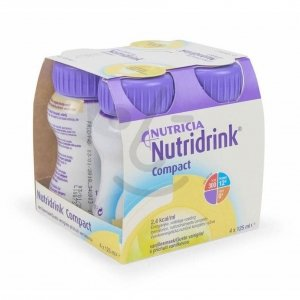 Nutridrink Compact Vanille 4x125ml