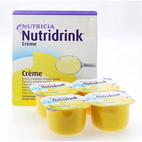 Nutridrink Creme Vanille 4x125gr