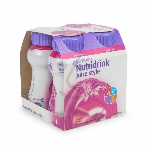 Nutridrink Juice Style Bosvruchten 4x200ml