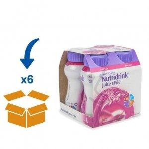 Nutridrink Juice Style Bosvruchten | 6 pakken van 4x200ml