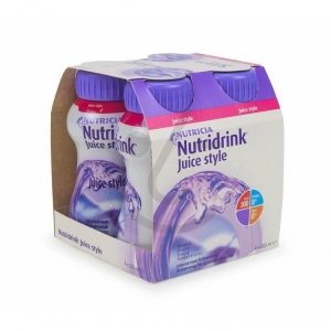 Nutridrink Juice Style Cassis 4x200ml