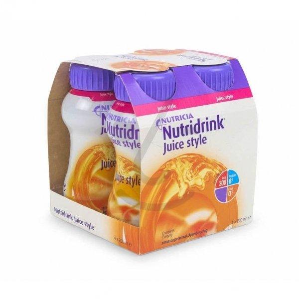 Nutridrink Juice Style Sinaasappel 4x200ml