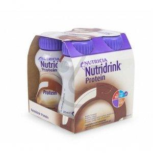 Nutridrink Protein Chocolade 4x200ml