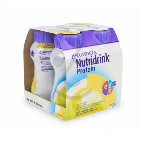 Nutridrink Protein Vanille 4x200ml