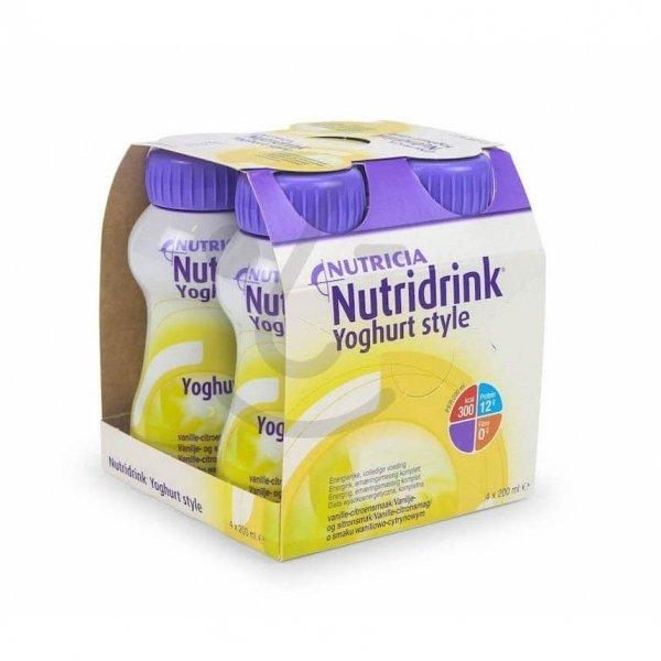 Nutridrink Yoghurt Style Vanille/Citroen 4x200ml