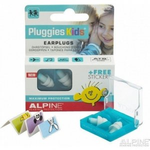 Pluggies Kids Oordopjes-PartyPlug display