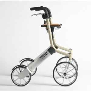 Rollator Let's Go Out-Zilver / Beige