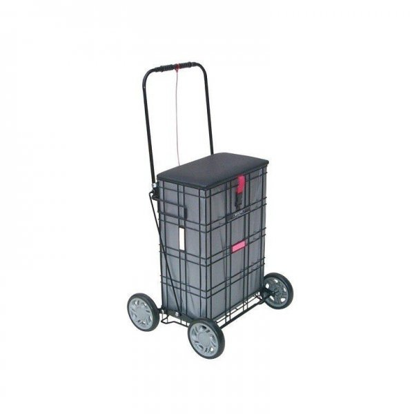 Shopping Trolley met zitting