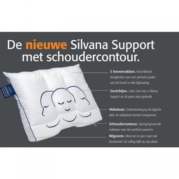 Silvana Support Kussen Emerald - Beetje Zacht