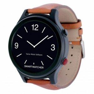 SmartWatcher alarmhorloge - Essence Deluxe bruin