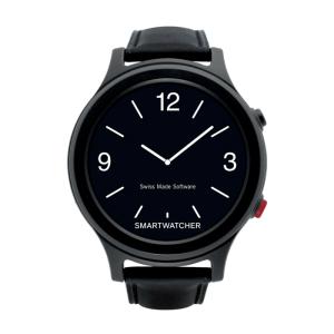 SmartWatcher alarmhorloge - Essence Deluxe zwart