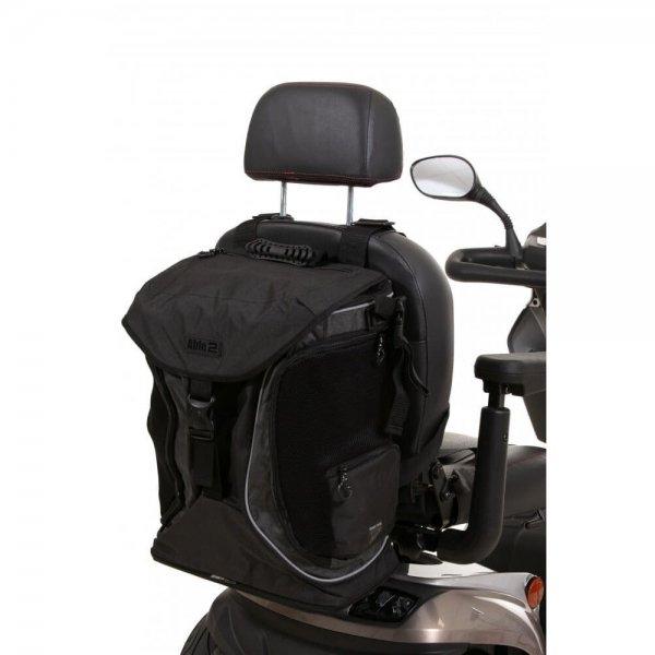 Splash Torba Go rolstoel & scootmobieltas-Zwart / Grijs