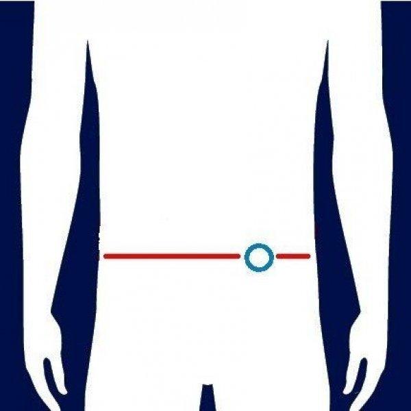 Stomasafe Plus Beige-Small/Medium 85 - 110 cm