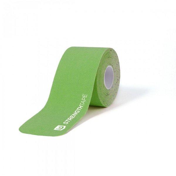 StrengthTape Rol - 5 Meter Pre-Cut-Groen