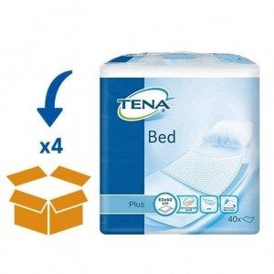 TENA Bed Plus Onderlegger 60 x 60 cm | 4 pakken van 40 Stuks